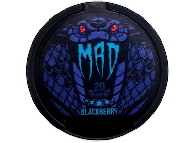 Снюс mad Blackberry