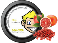 Snubie Blood Orange & Goji Berry SNUS | Snus.biz
