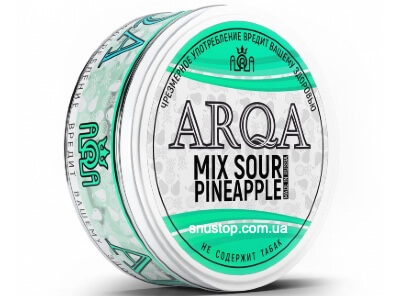 Снюс Arqa Mix Sour Pineapple