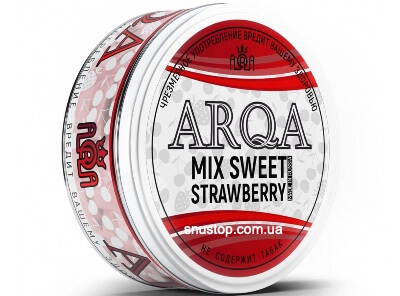 Снюс Arqa Mix Sweet Strawberry