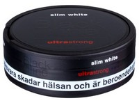 Black Line Ultra Strong Mint Slim White Snus