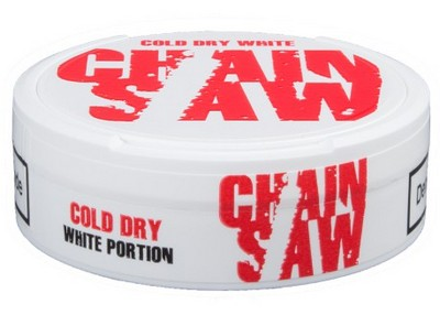 CHAINSAW Cold White Dry Ultra Strong Portion Snus