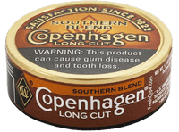 Copenhagen Southern Blend Long Cut Snus