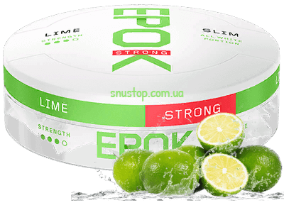 Epok Strong Lime White Snus