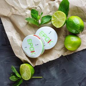 Epok Lime Slim Ultra White Snus
