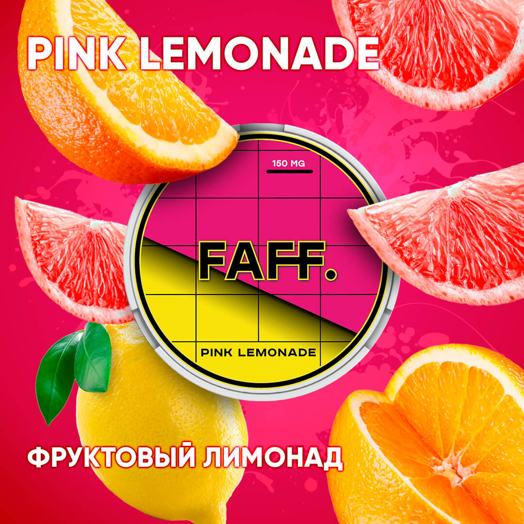 Snus Faff Lemonade 150 mg