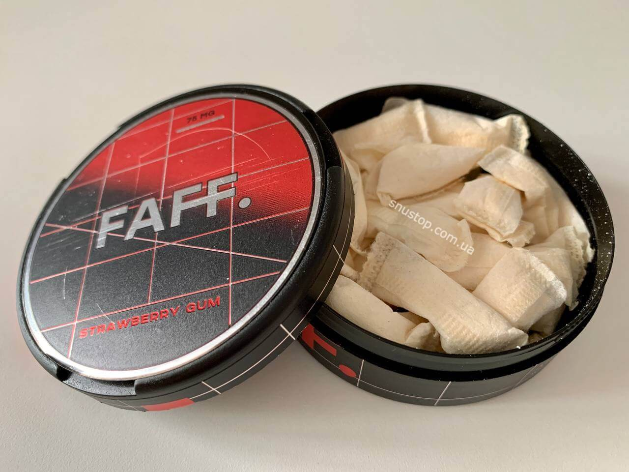Снюс FAFF Strawberry Gum 75 mg