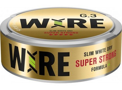 G.3 Wire Super Strong Snus