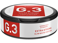 General G.3 Extra Strong Slim White Snus