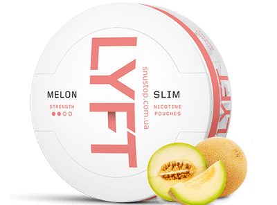 LYFT Melon Slim All White Snus