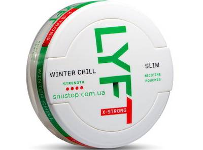 Lyft Winter Chill X-strong Slim White