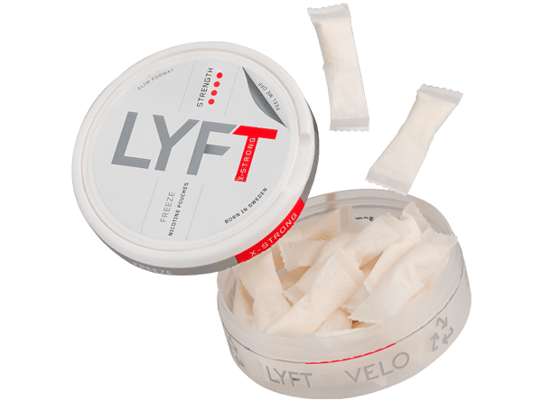 Lyft Freeze X-Strong Slim White Snus