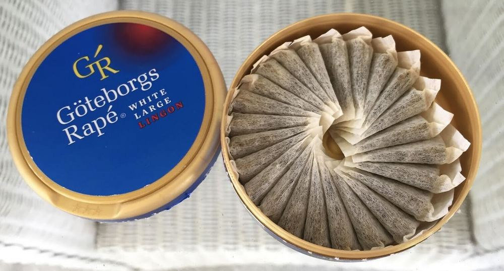 Gothenburg Rapé White Portion Snus