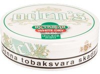 Odens Extreme Slim Double Mint White Dry Snus