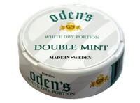 Odens Double Mint White Dry Portion Snus