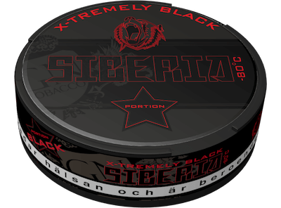 Siberia -80°C Black Portion Snus