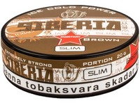 Siberia -80°C Slim Brown Portion Snus