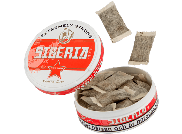 Siberia Extremely Strong White Dry Buy Snus wholesale in Poland