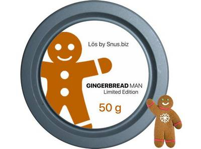 Gingerbread Man loose snus