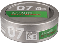 LAB 07 Slim Extra Strong White Snus