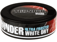 Thunder Ultra Frosted White Dry Snus