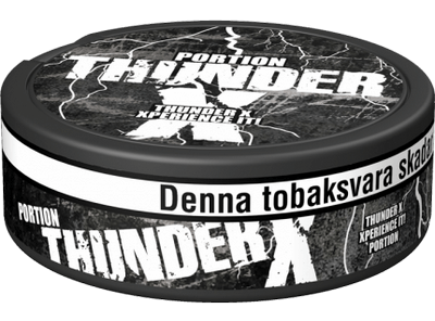 Thunder X Original Portion Snus